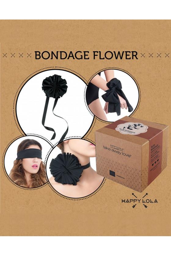 WSTĘGA DO KRĘPOWANIA HAPPY LOLA BONDAGE FLOWER