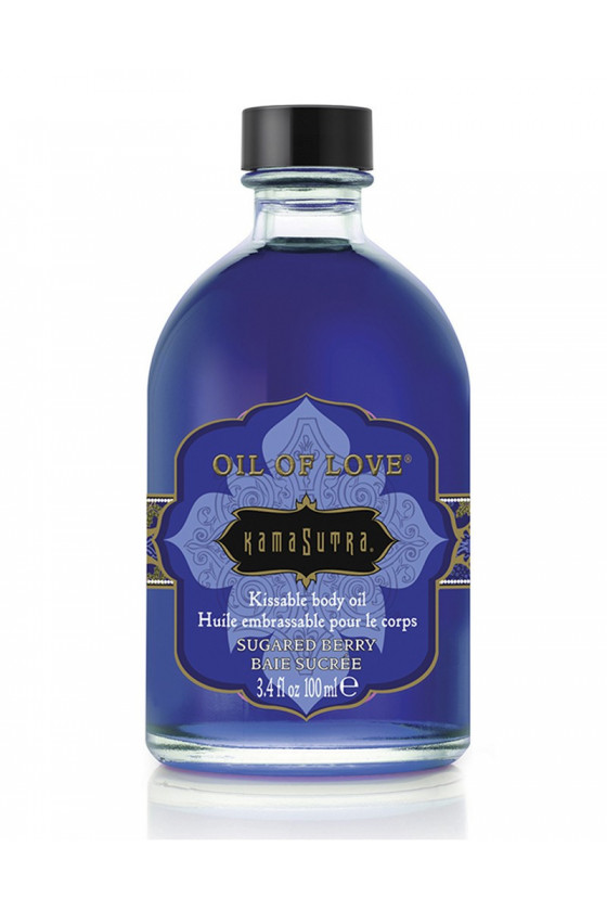 OLEJEK EROTYCZNY KAMASUTRA OIL OF LOVE SUGARED BERRY
