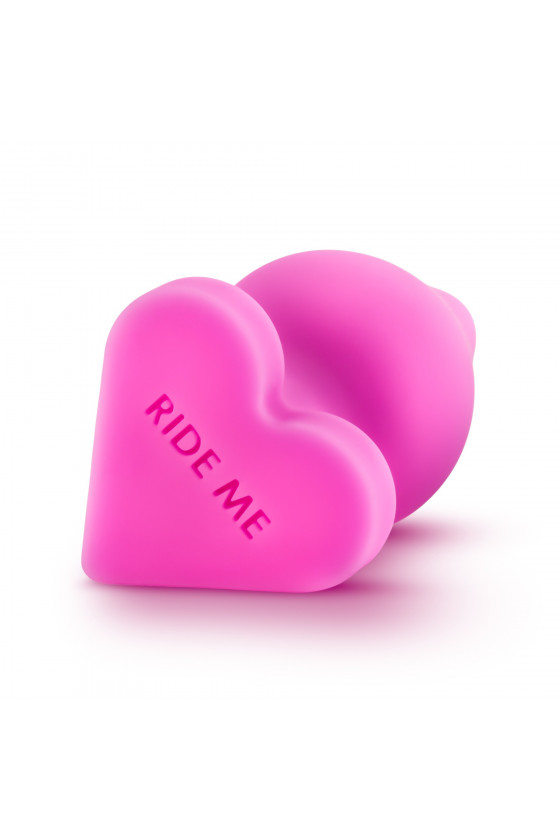 KOREK ANALNY BLUSH NAUGHTIER CANDY HEART RIDE WITH ME
