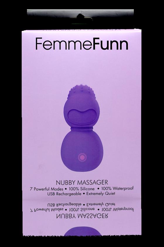 MASAŻER INTYMNY BUDDIES NUBBY FEMME FUNN