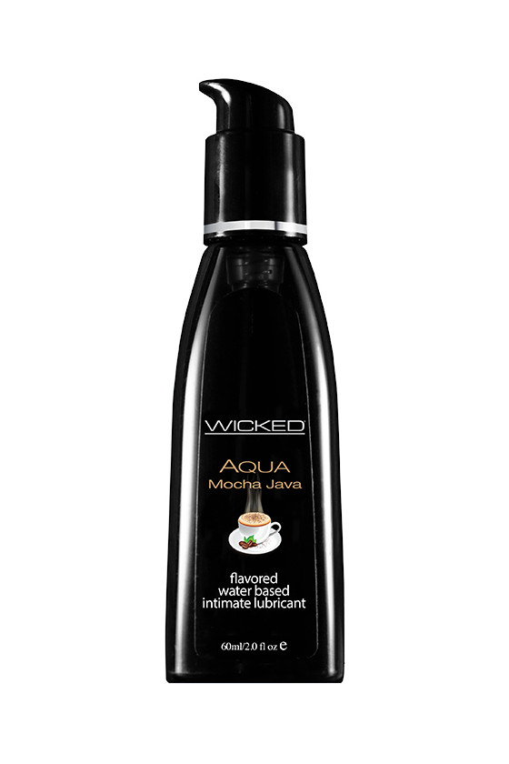 Jadalny Lubrykant Wicked® Aqua Mocha Java 60 ml i 120 ml