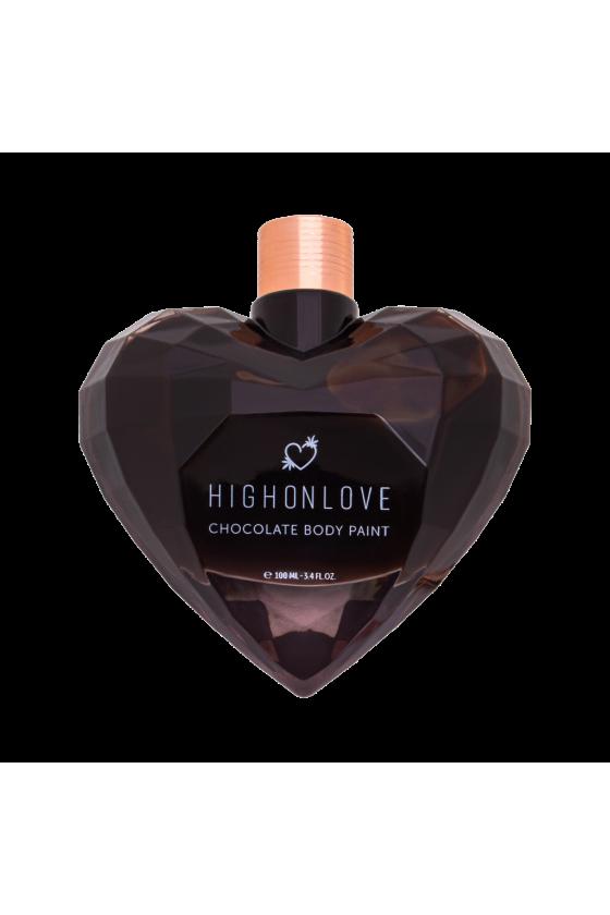 Farba do ciała CBD HighOnLove Dark Chocolate