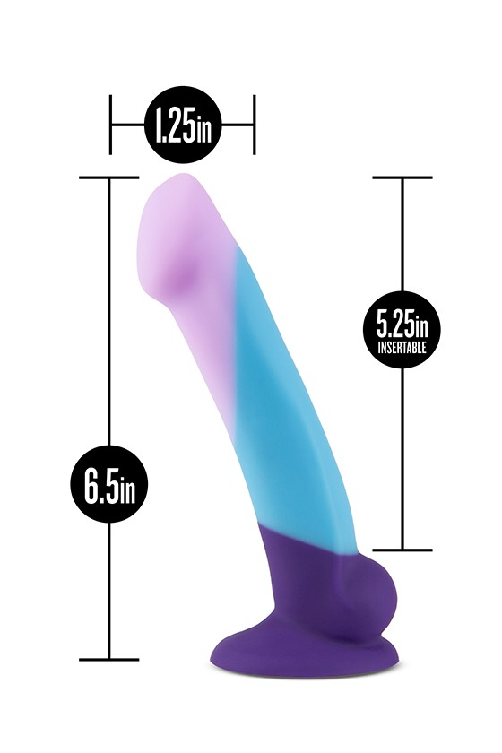 Limitowana Edycja Dildo Blush Avant Purple Haze