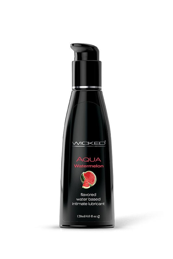 JADALNY LUBRYKANT ARBUZOWY WICKED® AQUA WATERMELON 120 ml