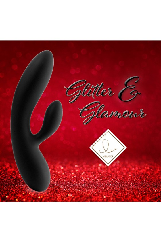 Feelztoys Lea Glitter&Glamour Black + Satisfyer Double Joy