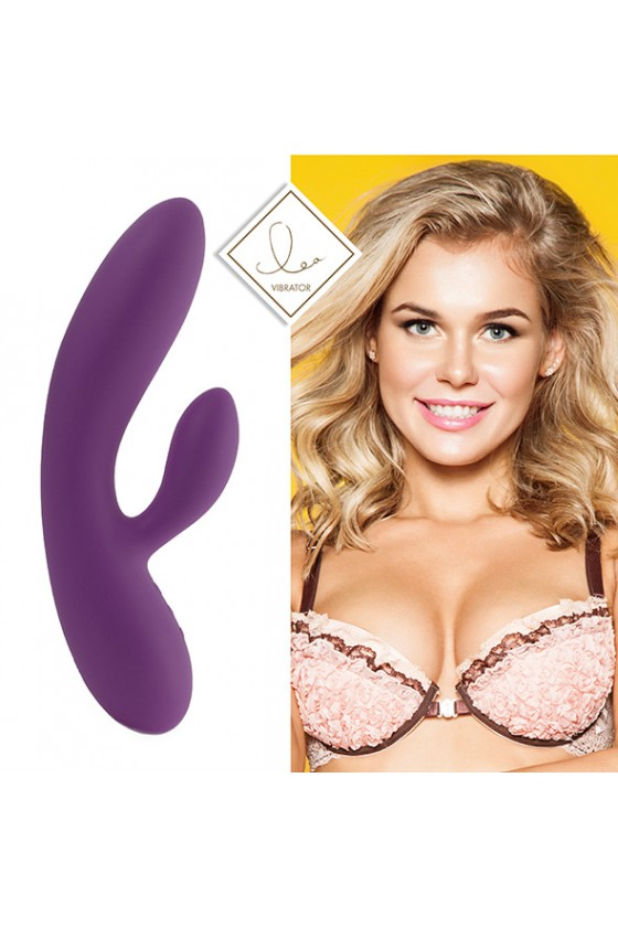 Feelztoys Lea Lovely&Natural Purple + Satisfyer Curvy 1+