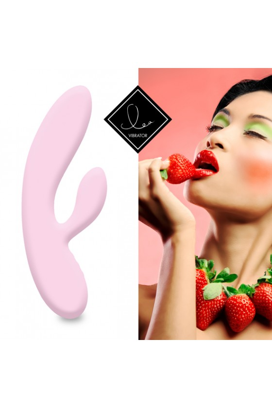 Feelztoys Lea Juicy&Fruity Truskawka + Satisfyer Double Joy