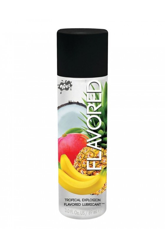 Smakowy Lubrykant na bazie wody WET® Flavored