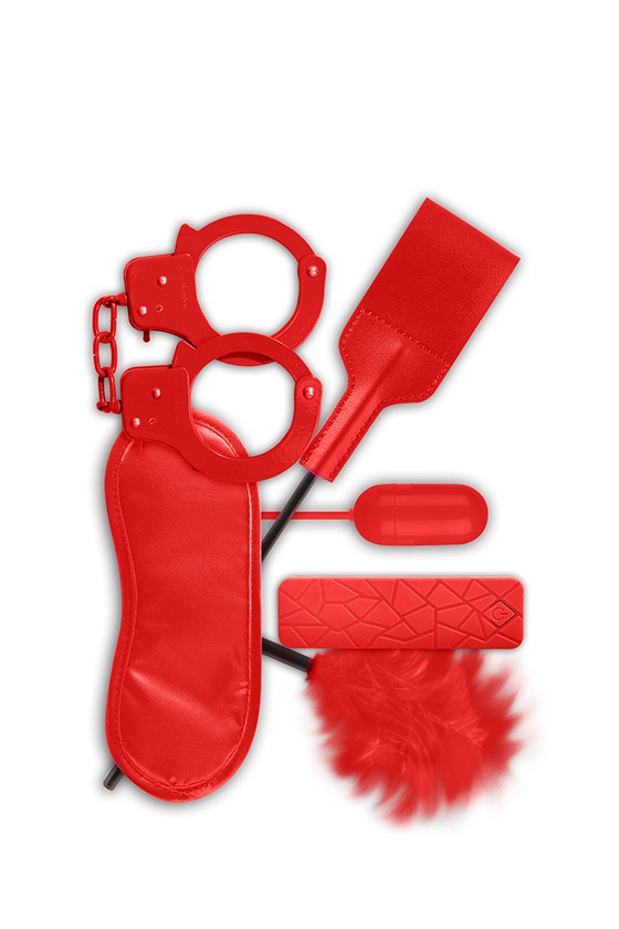 Akcesoria erotyczne BDSM Guilty Pleasure Gift Set Red