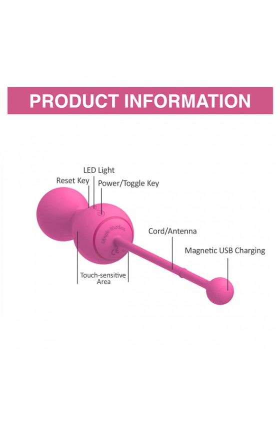Kulki waginalne sterowane aplikacją Magic Motion Smart Kegel Master