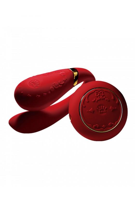 Wibrator dla par zdalnie sterowany Zalo Fanfan Set