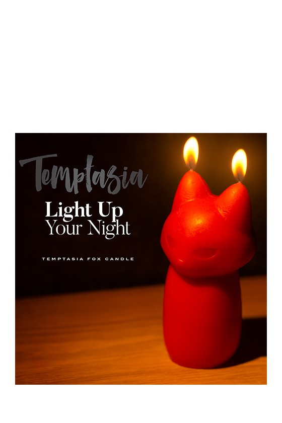 Świeczka BDSM Blush Temptasia Fox Drip Candle Red