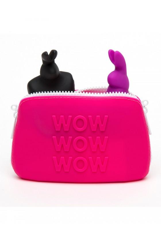 Etui na gadżety erotyczne Happy Rabbit Zip Bag Small