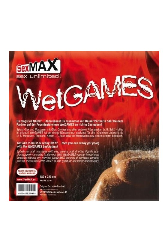 Prześcieradło Winylowe Joydivision Wet Games