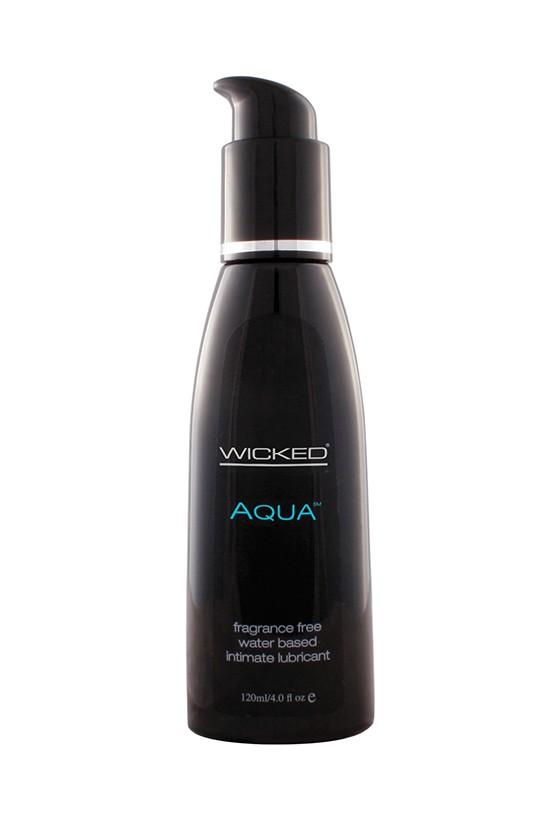 Lubrykant na bazie wody Wicked Aqua 60 ml, 120 ml, 240 ml