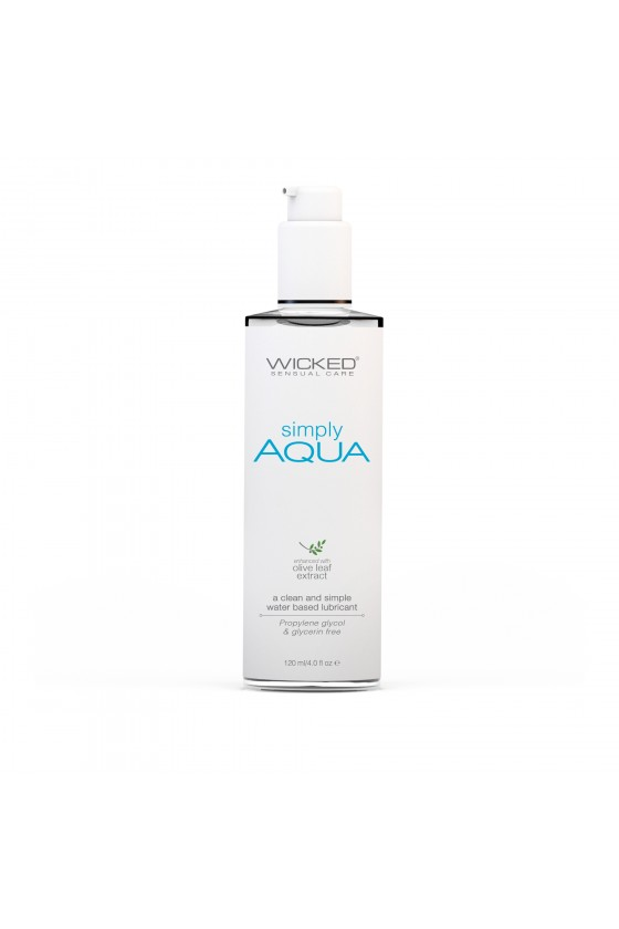 Lubrykant Wicked Simply Aqua 70 ml, 120 ml