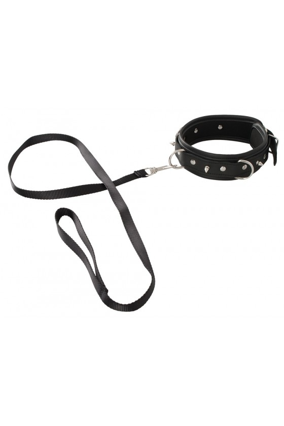 Obroża i smycz Vegan Fetish Collar and Leash