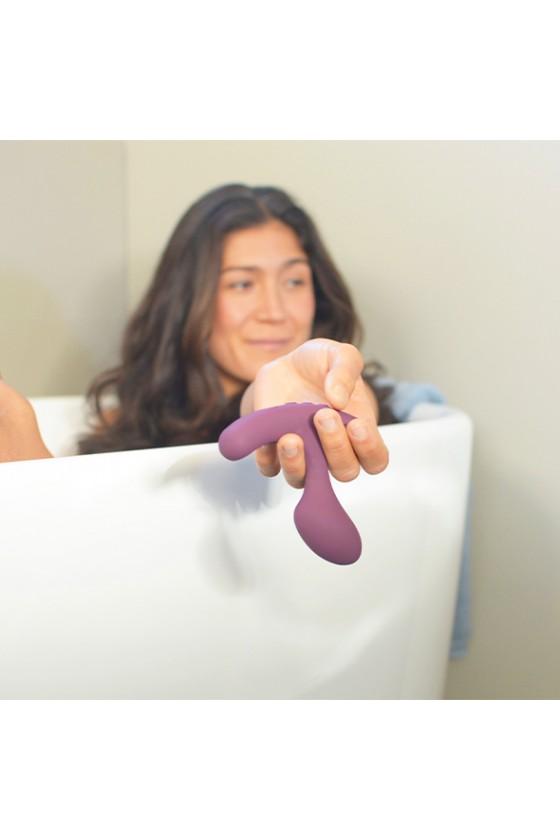 Wibrujący, podgrzewany waginalno-analny plug Lora DiCarlo Tilt