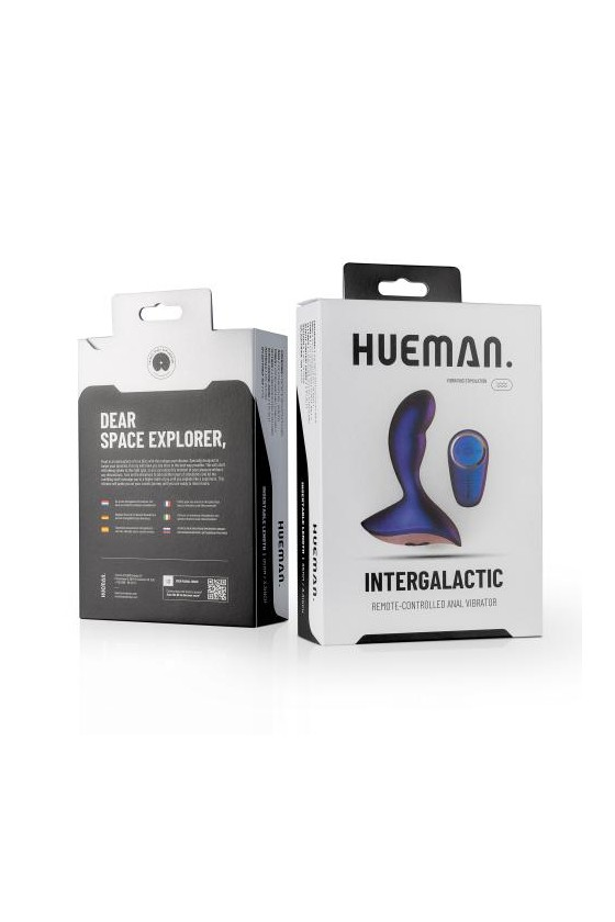 Wibrator analny zdalnie sterowany Hueman Intergalactic Unisex