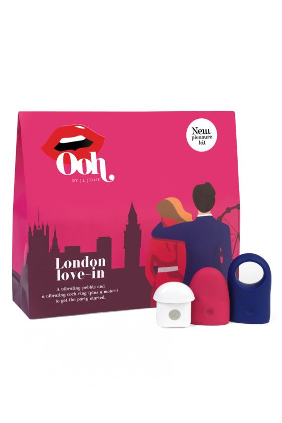 ZESTAW GADŻETÓW EROTYCZNYCH OOH BY JE JOUE LONDON LOVE-IN