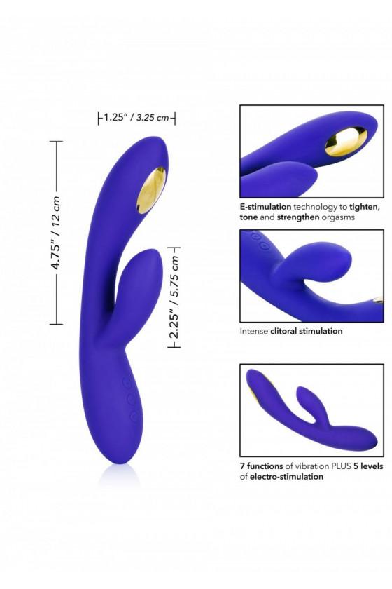 Wibrator króliczek Calexotics Estim Impulse Dual Wand