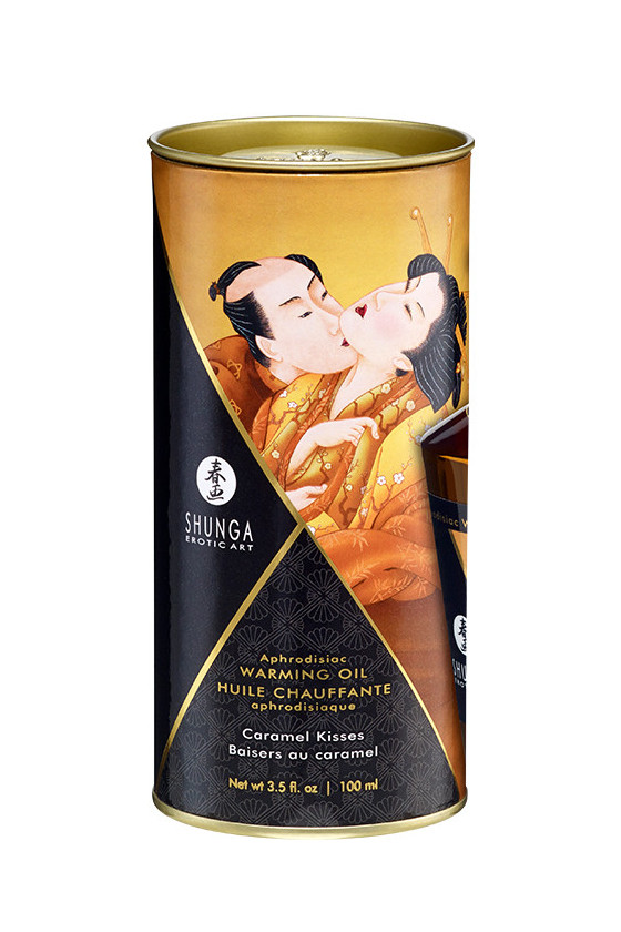 KARMELOWY OLEJEK APHRODISIAC OIL CARAMEL KISSES SHUNGA