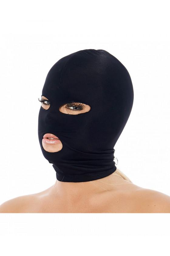 FETYSZOWA MASKA BDSM RIMBA STRETCHY FACE MASK